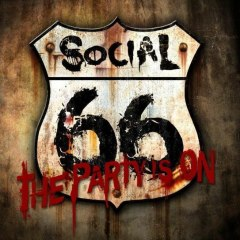 Social 66 - Party is On (Album Art)