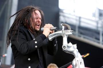 Jonathan Davis and Korn headline the first night of Rock on the Range 2013. (Photo Credit: Scott Legato / Getty)